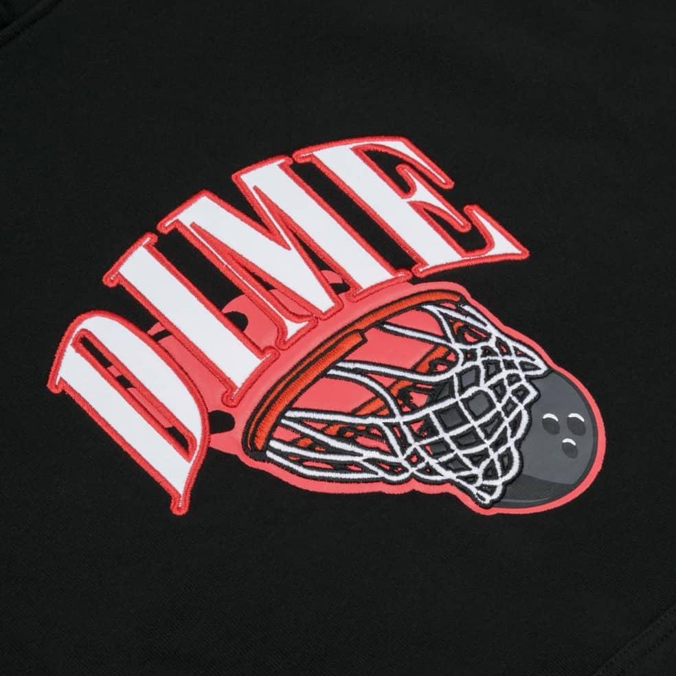 Dime Basketbowl Patch Hoodie - Black | Hoodie by Dime 2