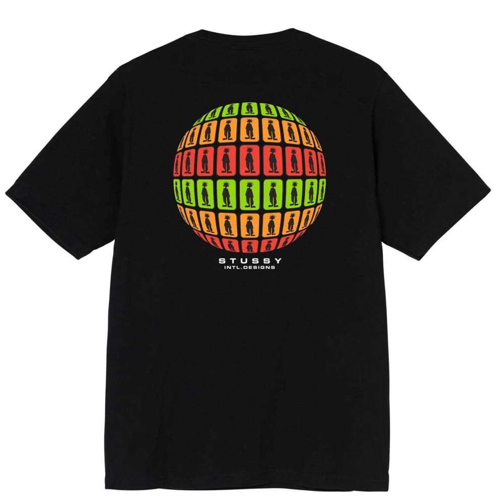 Stüssy Stratosphere T-Shirt - Black | T-Shirt by Stüssy 1