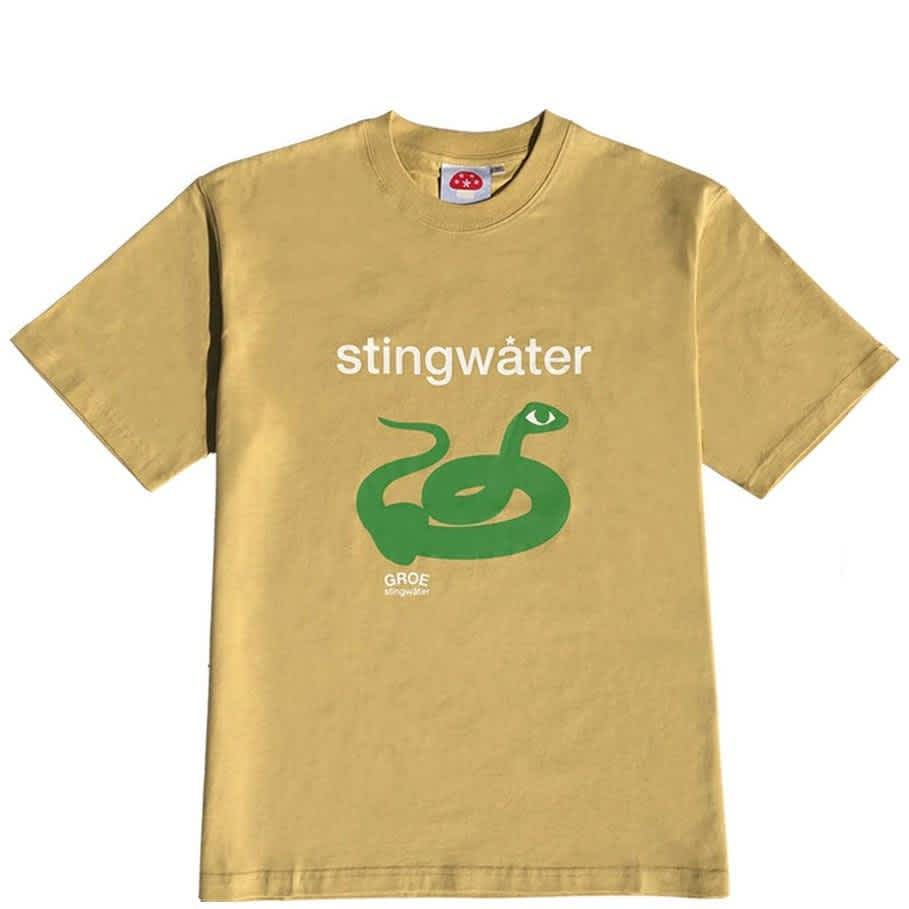 Stingwater Snake T-Shirt - Tan | T-Shirt by Stingwater 1