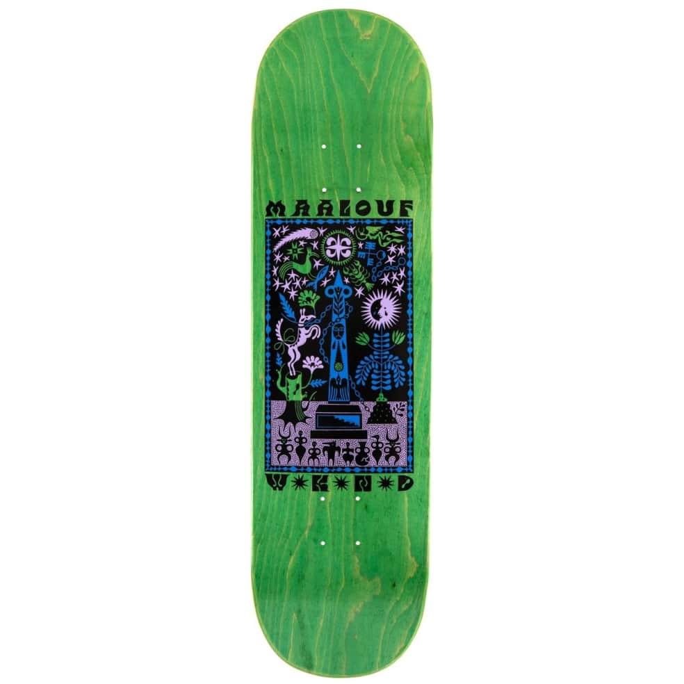 "WKND ""Miracle"" Christian Maalouf Skateboard Deck - 8.5"" | Deck by WKND 1"