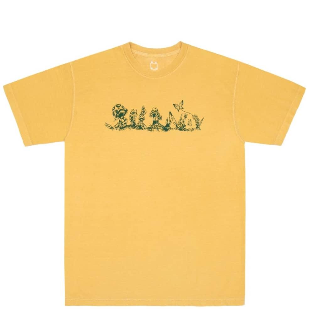 WKND Floral WKND T-Shirt - Mustard   T-Shirt by WKND 1