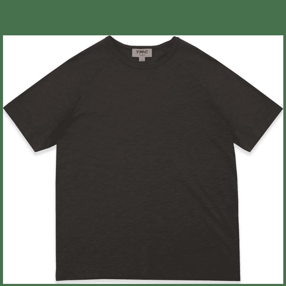 YMC Television Raglan T-Shirt - Black | T-Shirt by YMC 1