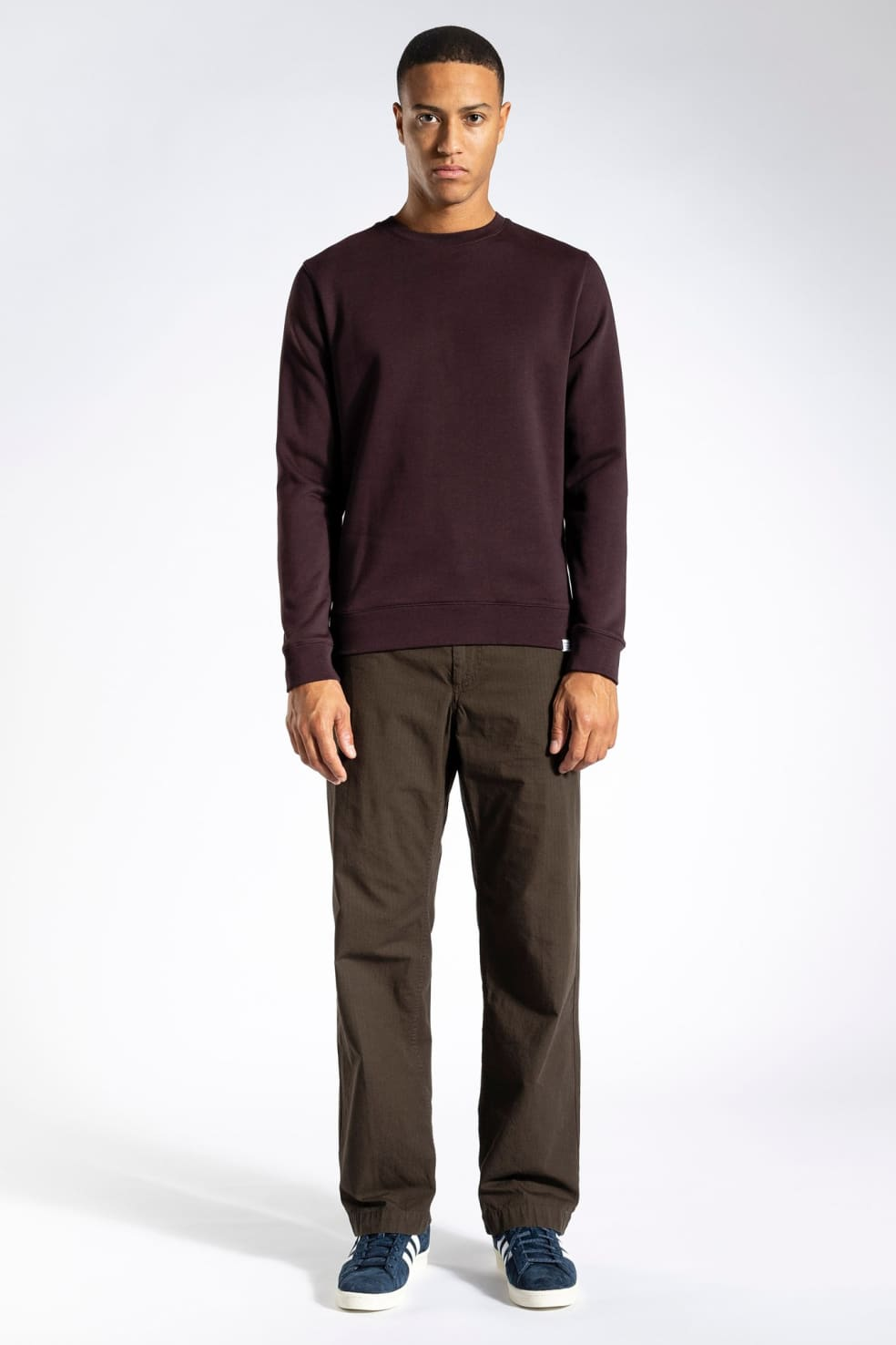 Norse Projects Vagn Classic Crew - Eggplant | Sweatshirt by Norse Projects 3