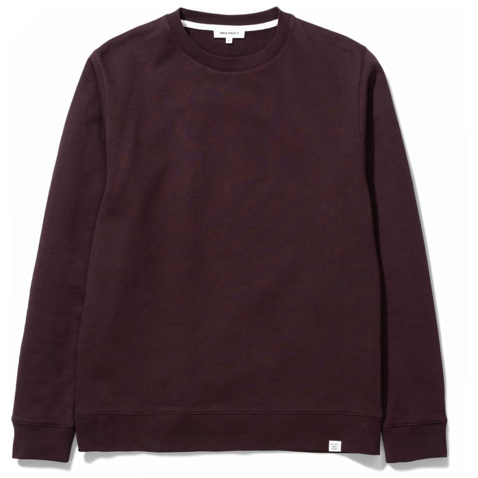Norse Projects Vagn Classic Crew - Eggplant | Sweatshirt by Norse Projects 1