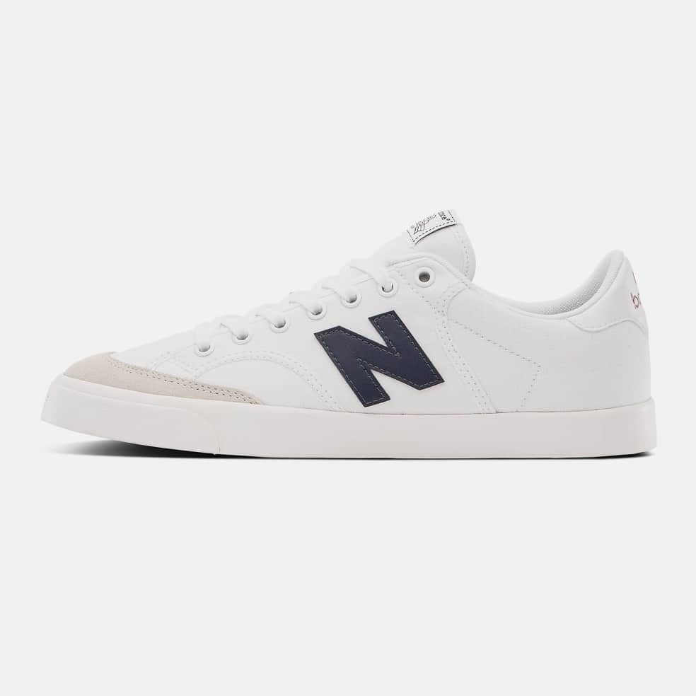 New Balance Numeric NM212 Shoes - White / Navy   Shoes by New Balance Numeric 3