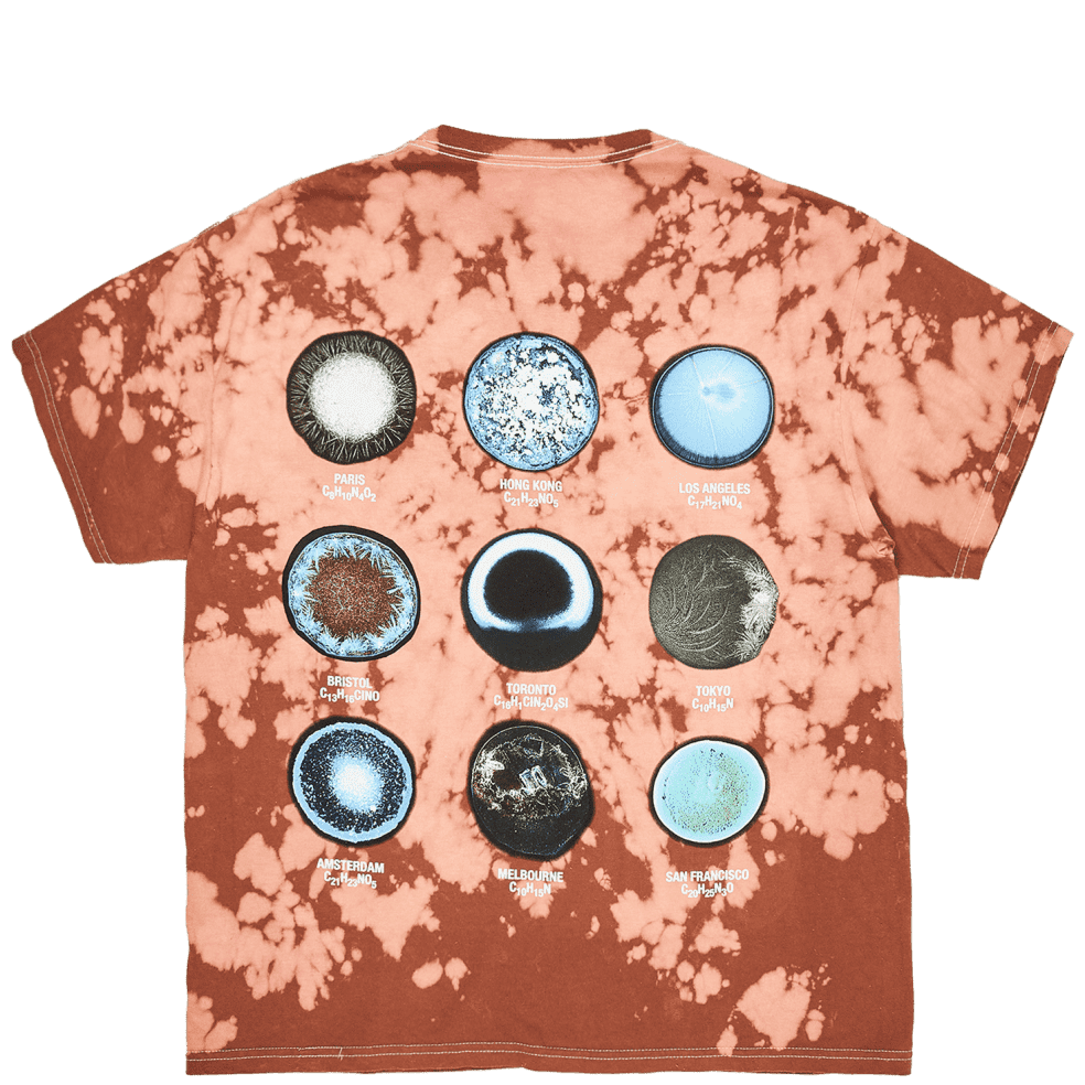 Pleasures Trip Dyed T-Shirt - Brown | T-Shirt by Pleasures 1