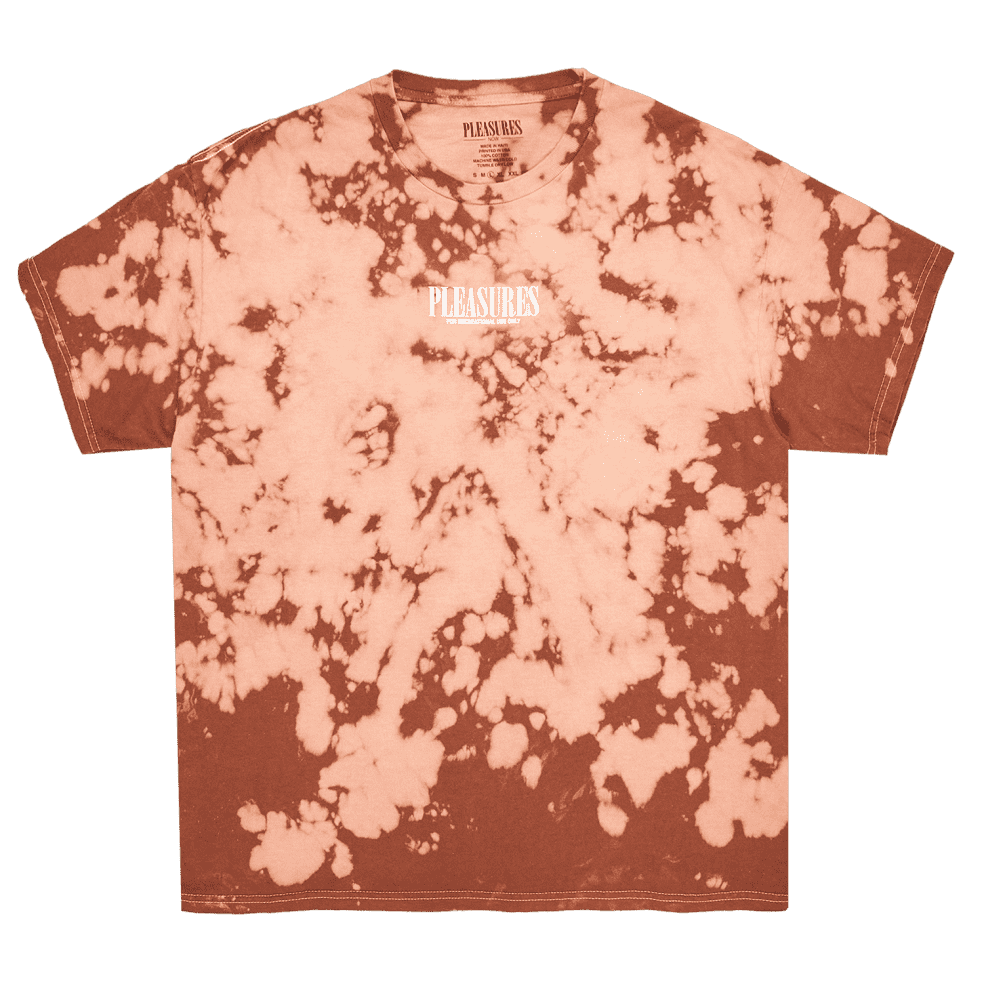 Pleasures Trip Dyed T-Shirt - Brown | T-Shirt by Pleasures 3