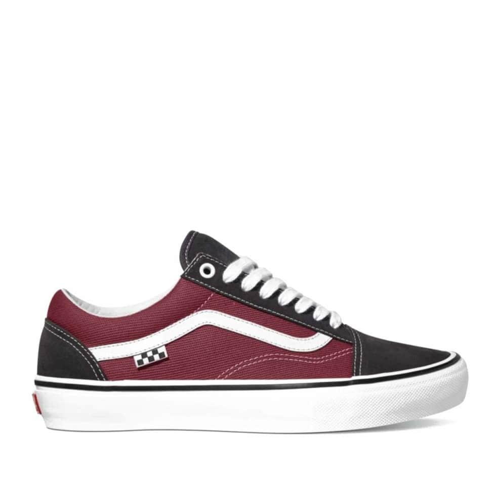 Vans Skate Old Skool Shoes - Asphalt / Pomegranate   Shoes by Vans 1