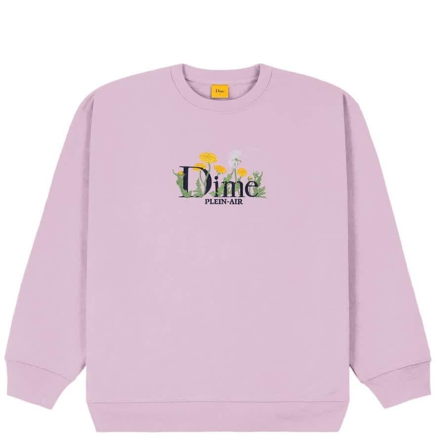 Dime Classic Allergies Crewneck - Lavender Frost | Sweatshirt by Dime 1