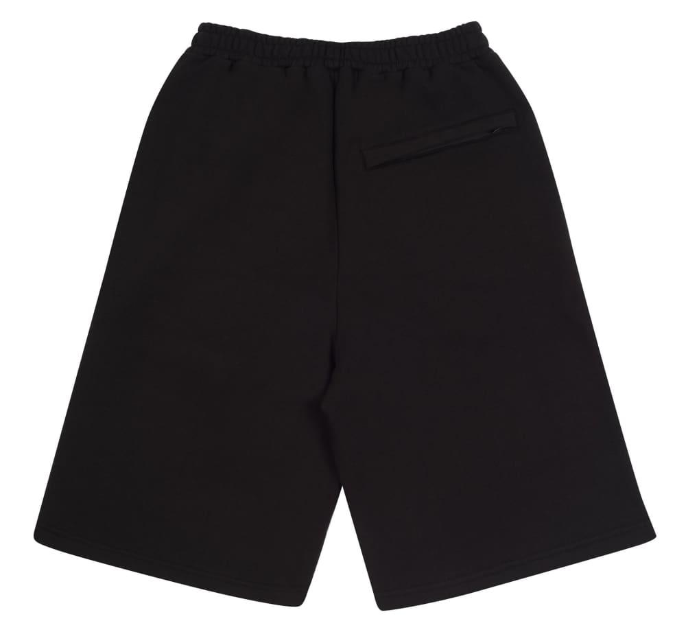 Yardsale Tijuana Sweat Shorts - Black / Red | Shorts by Yardsale 2