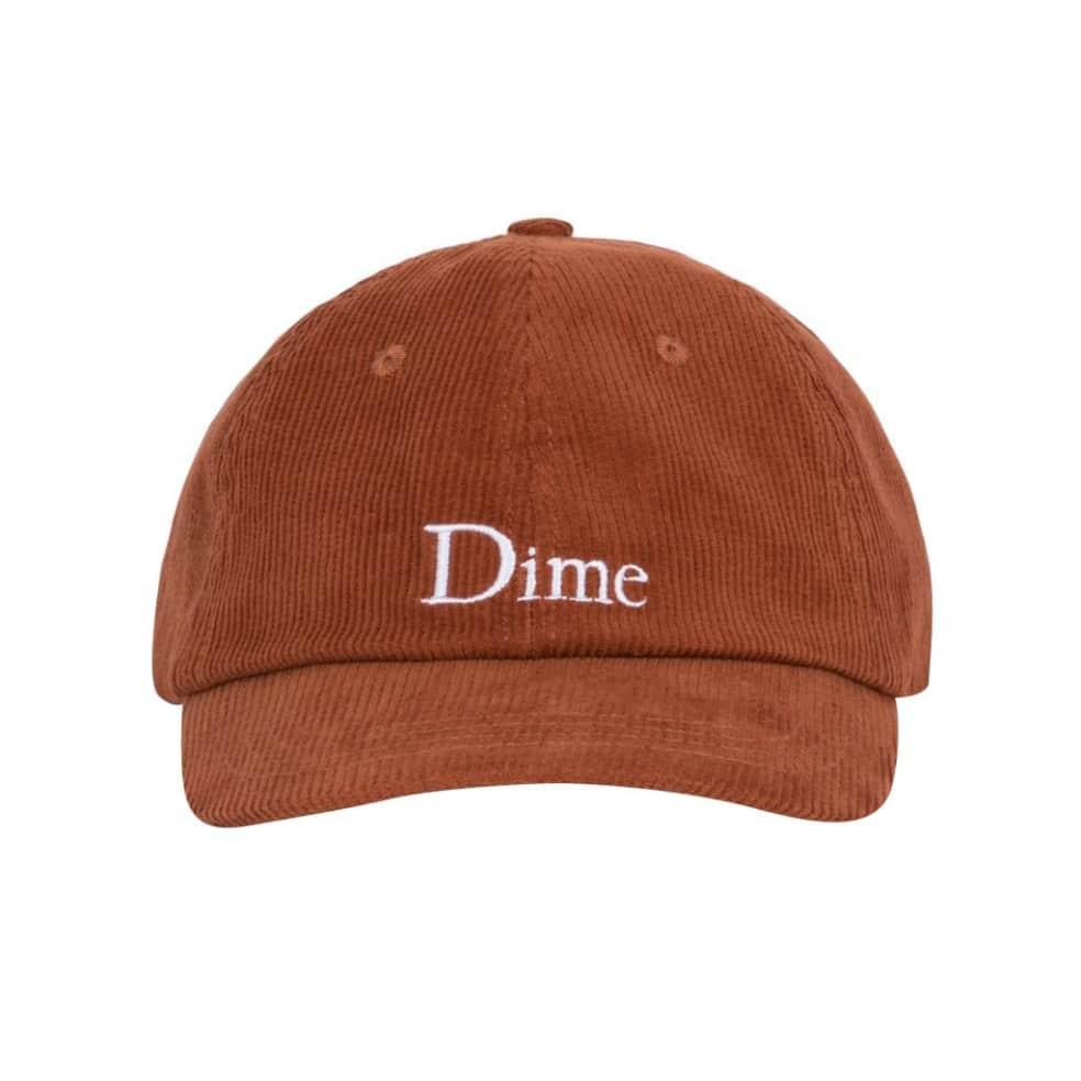 Dime Classic Corduroy Cap - Burnt Orange | Baseball Cap by Dime 2