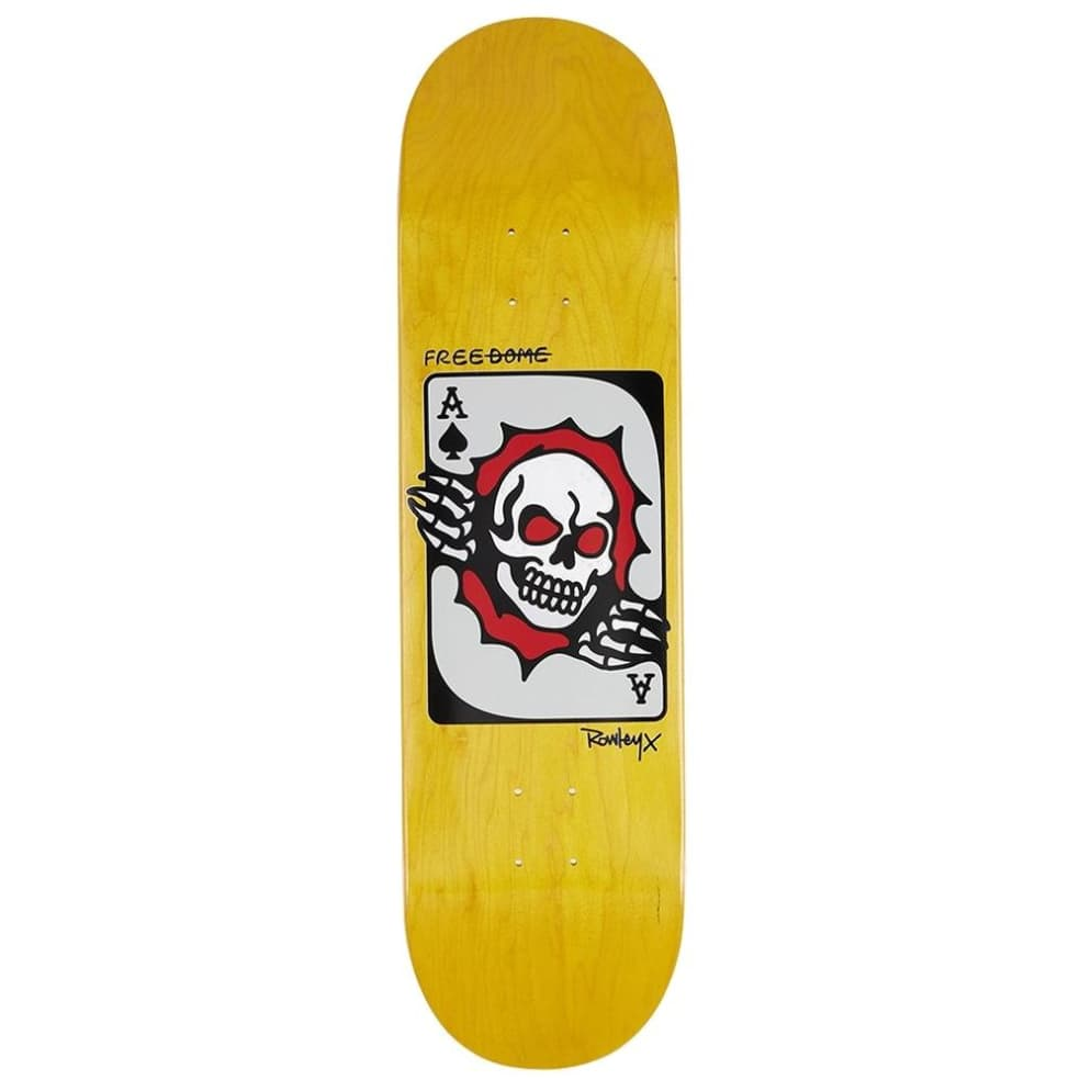 """Free Dome Rowley Ace Skateboard Deck - 8.5"""" 