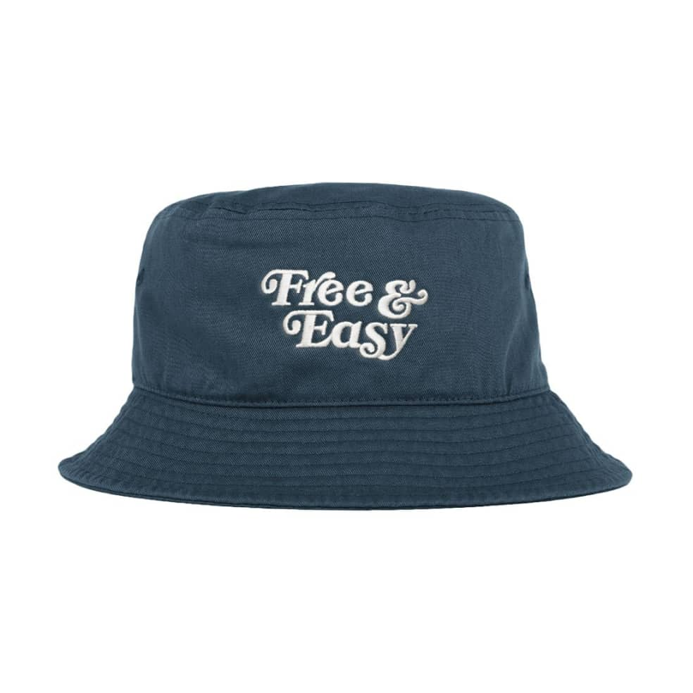 Free & Easy Don't Trip Bucket Hat - Navy | Bucket Hat by Free & Easy 2