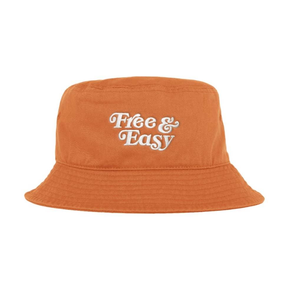 Free & Easy Don't Trip Bucket Hat - Orange | Bucket Hat by Free & Easy 2