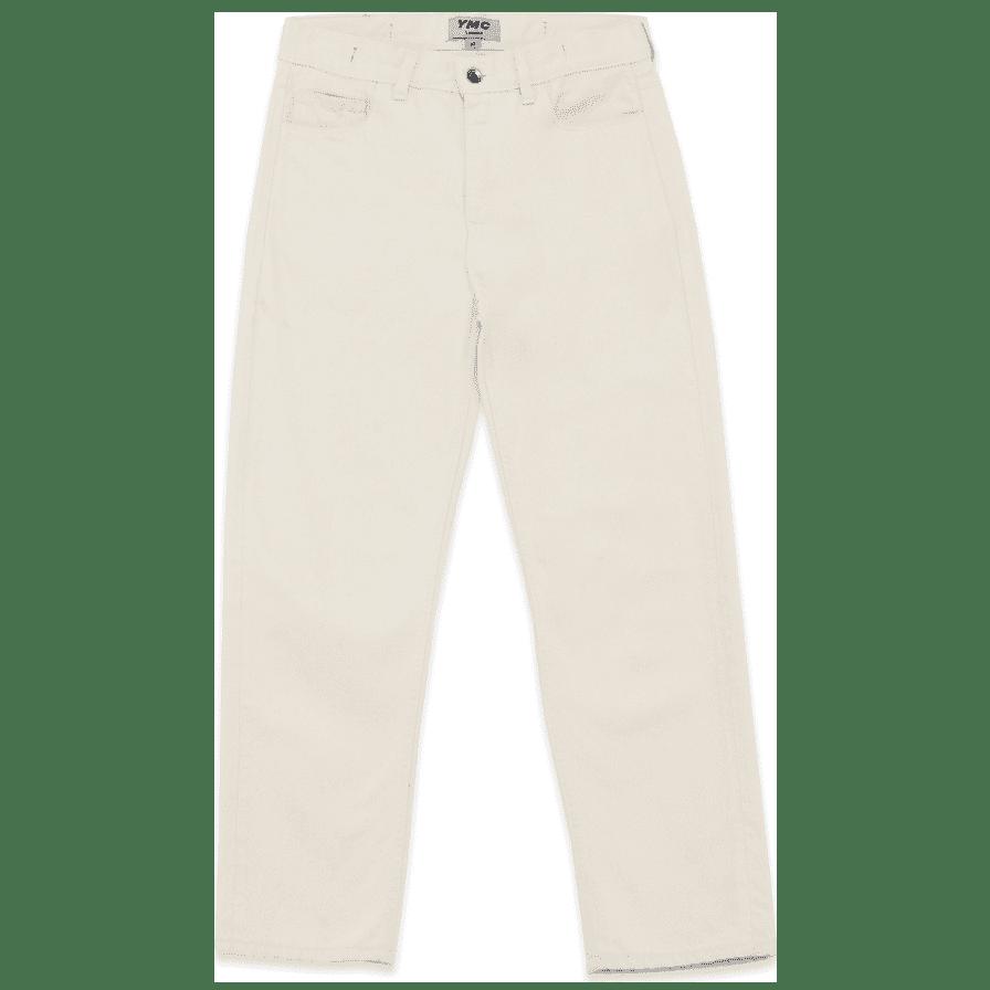 YMC Tearaway Jean - Ecru   Jeans by YMC 1