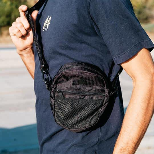 The BumBag Co Staple Compact Shoulder Bag - Black | Shoulder Bag by The Bumbag Co 3
