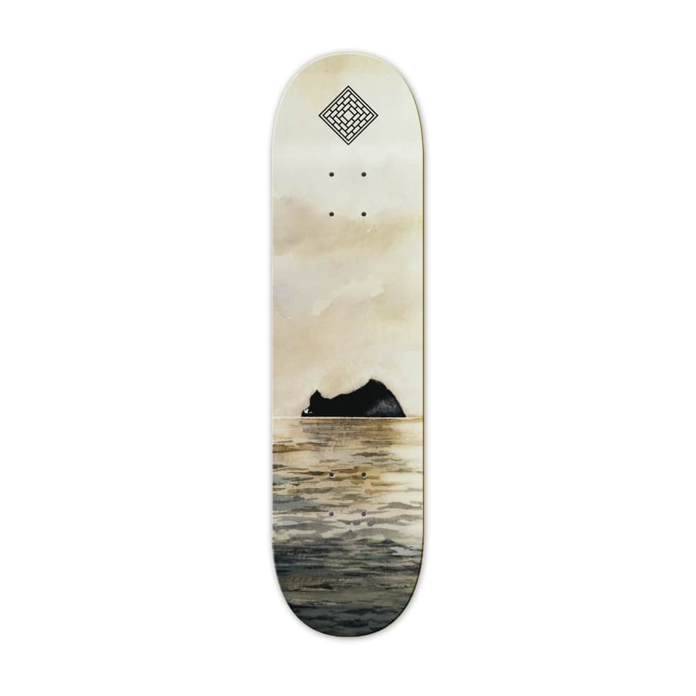 """ROCK - 8.125/8.5""""   Deck by The National Skateboard Co. 1"""
