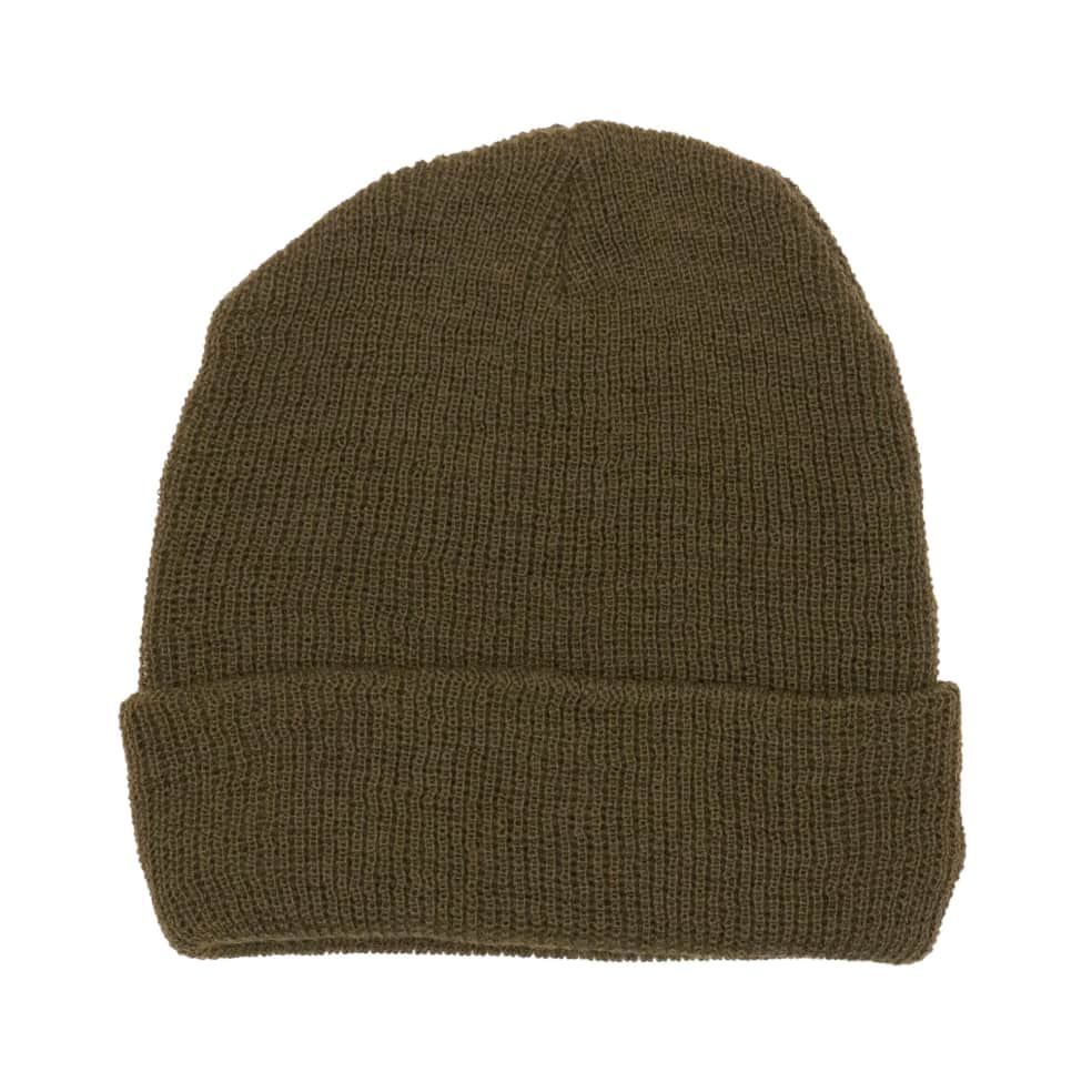 Rave Classic Logo Beanie - Olive   Beanie by Rave Skateboards 2