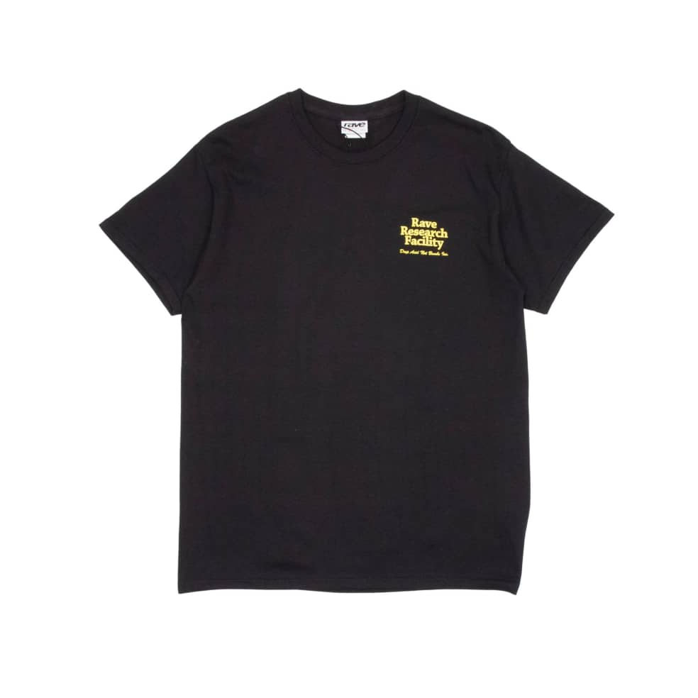 Rave Research Facility T-Shirt - Black | T-Shirt by Rave Skateboards 2