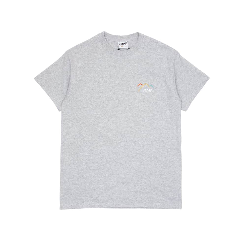 Rave Summit T-Shirt - Grey | T-Shirt by Rave Skateboards 1