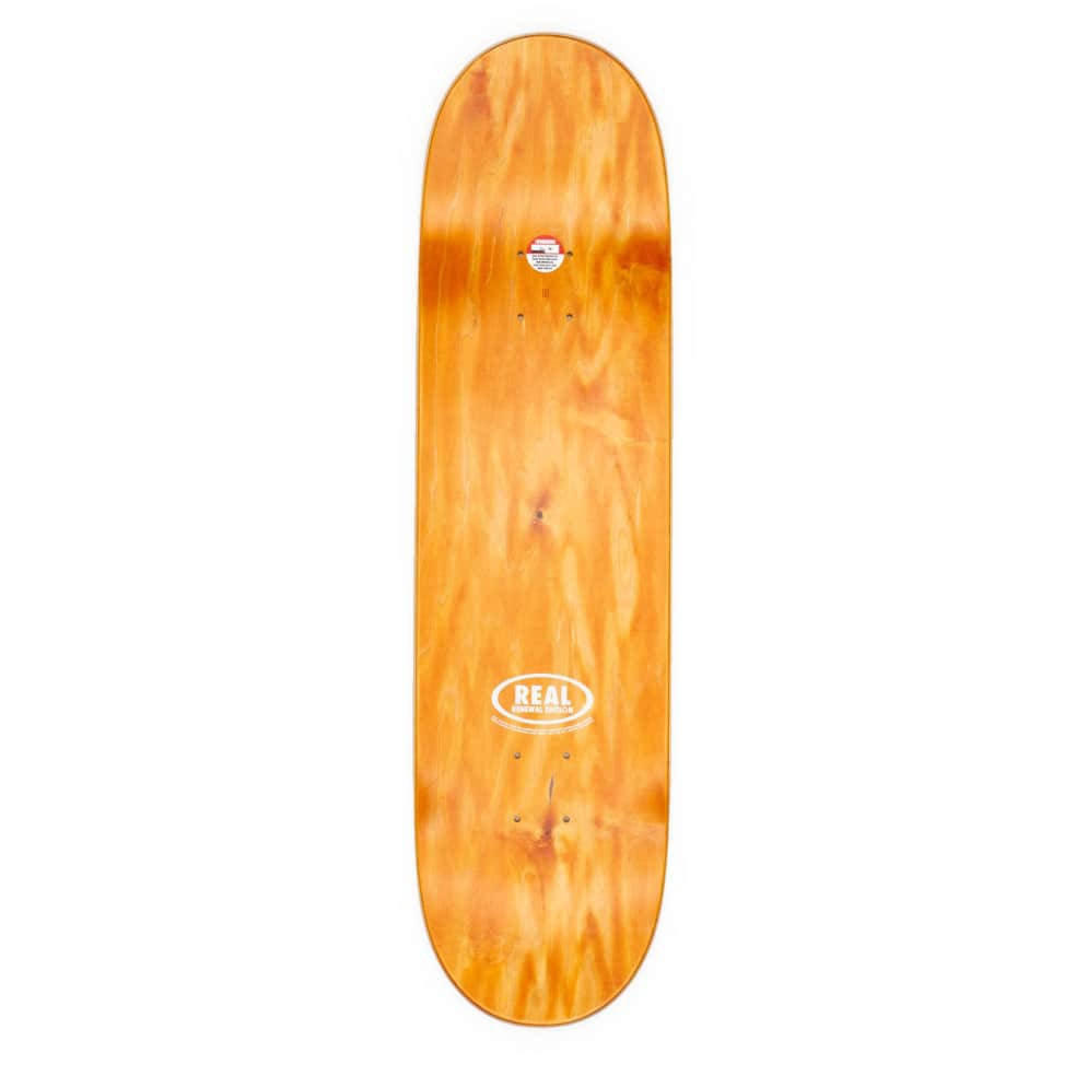 """Real Renewal Flowers Yellow Deck - 8.38"""" 