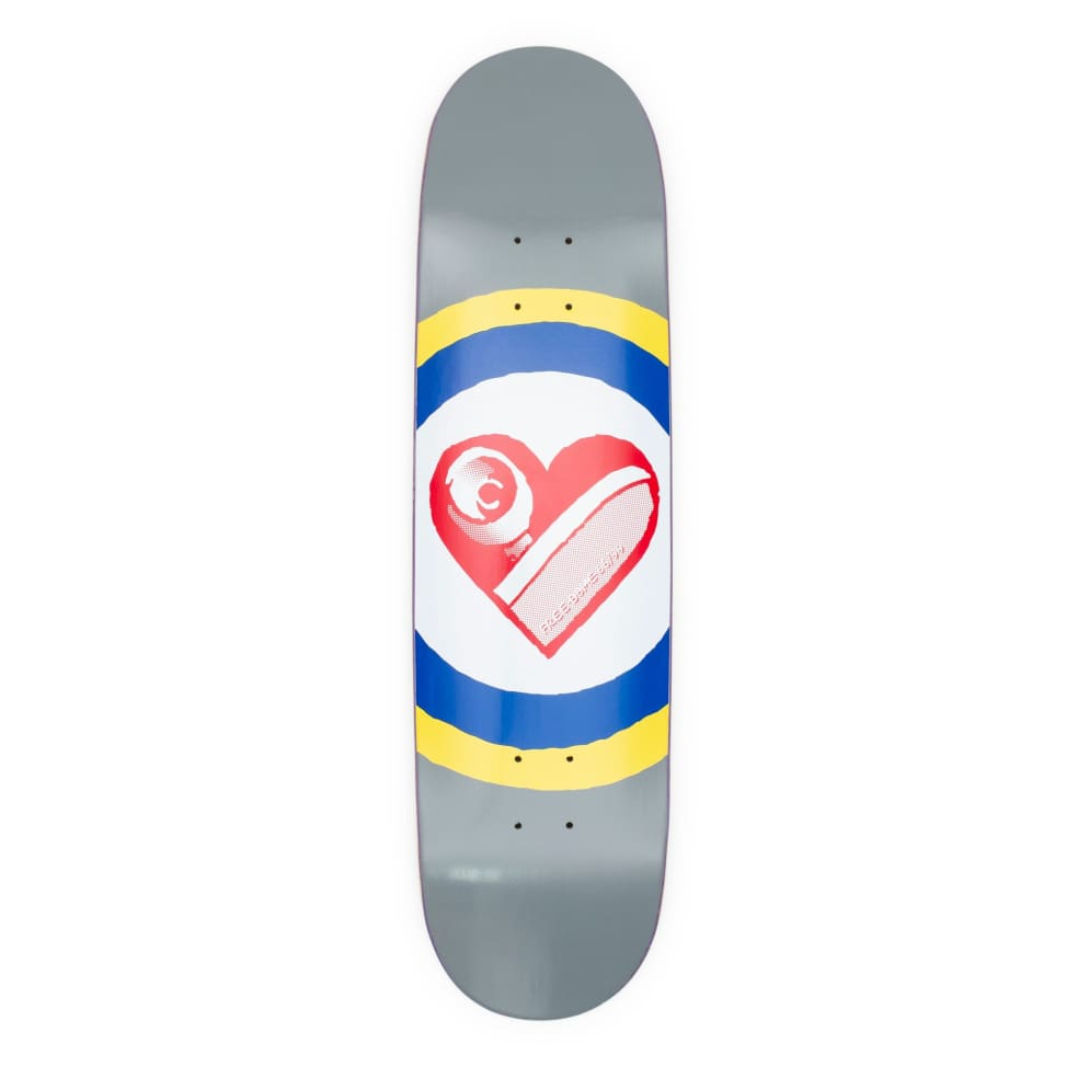 """Free Dome Sk8 Heart Deck - 8.25""""   Deck by Free Dome Skateboards 1"""