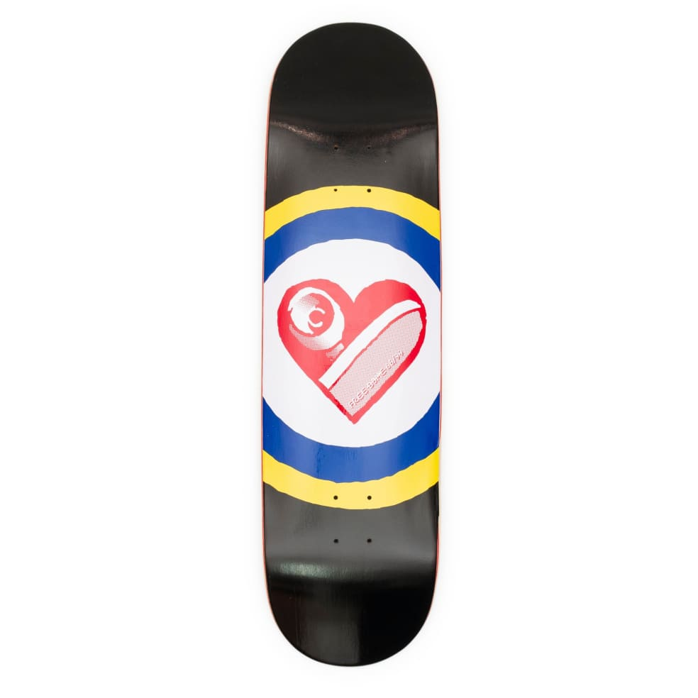 """Free Dome Sk8 Heart Deck - 9.0"""" 