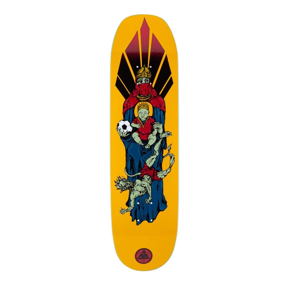 """Welcome Futbol on Moontrimmer Deck - 8.5"""" 