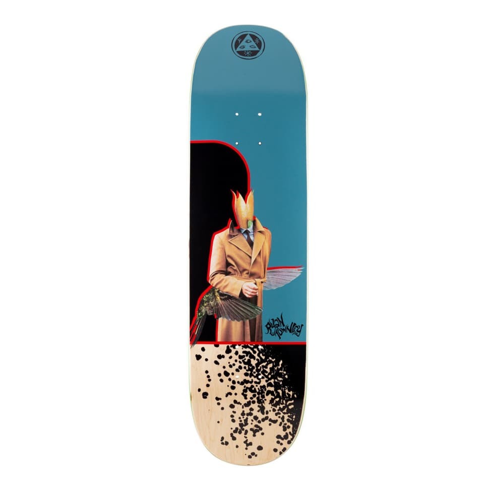 """Welcome Hummingbird on Enenra Ryan Townley Deck - 8.5"""" 