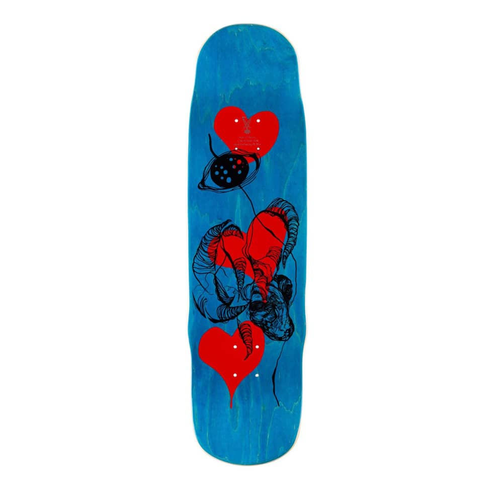 """Welcome Tusk on Effigy Daniel Vargas Deck - 8.8"""" 