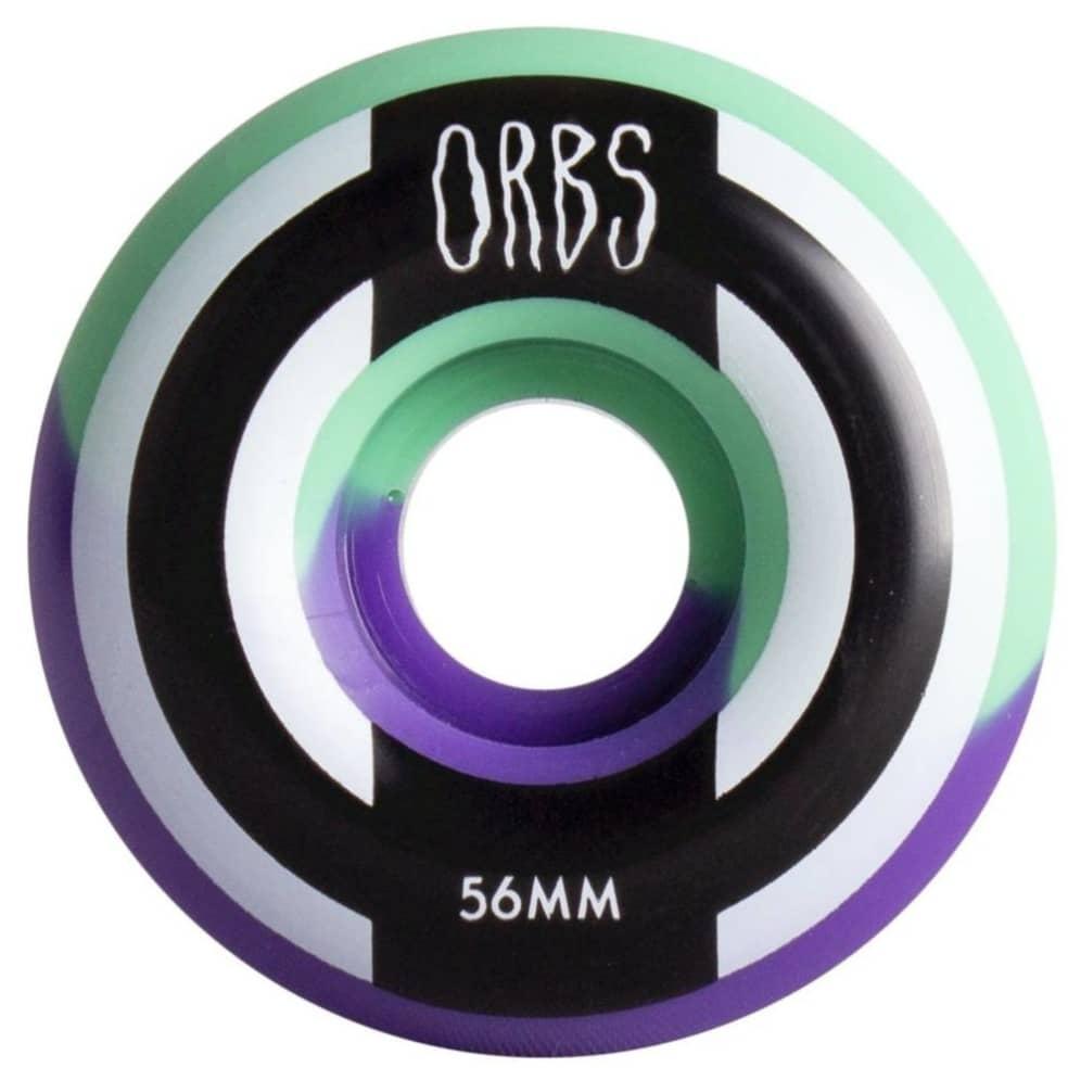 Welcome Orbs Apparitions Split 56mm Wheels (Mint/Lavender) | Wheels by Welcome Skateboards 1