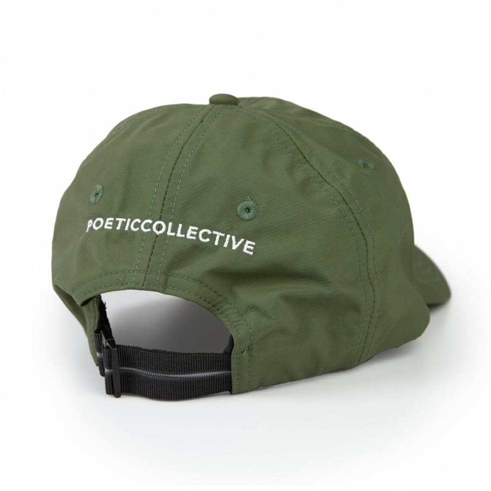 Poetic Collective Active Cap - Green   Baseball Cap by Poetic Collective 2
