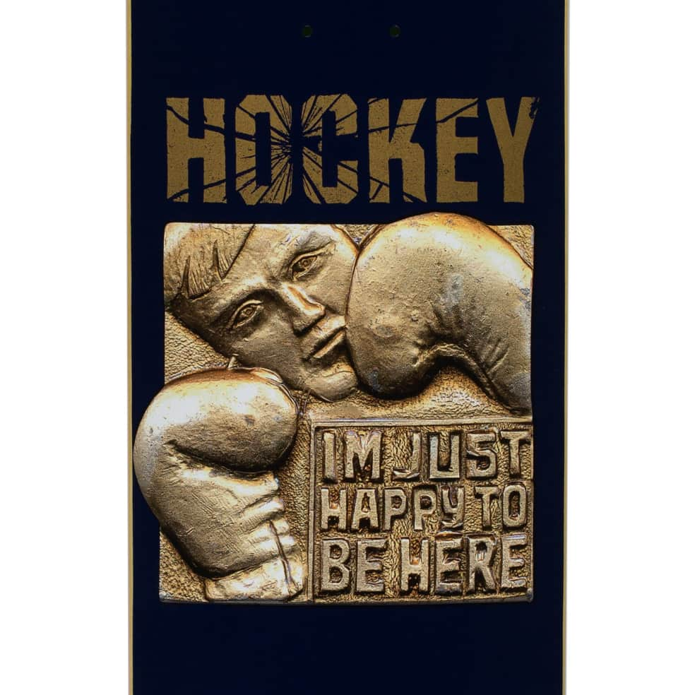 """Hockey Deck Fitzgerald Happy To Be Here 8.5"""" 