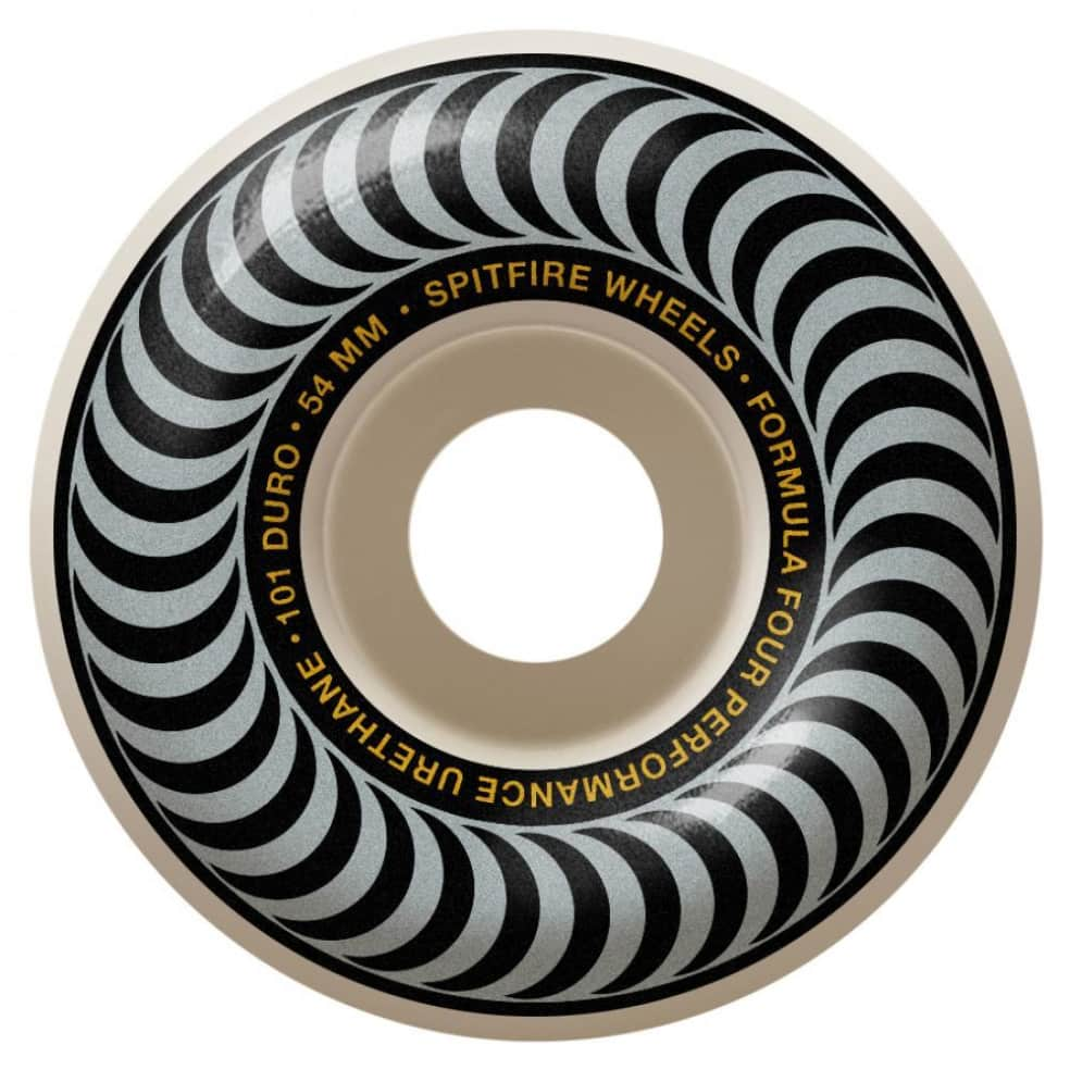 Spitfire Formula Four Classics Silver 101 Duro 54mm | Wheels by Spitfire Wheels 1
