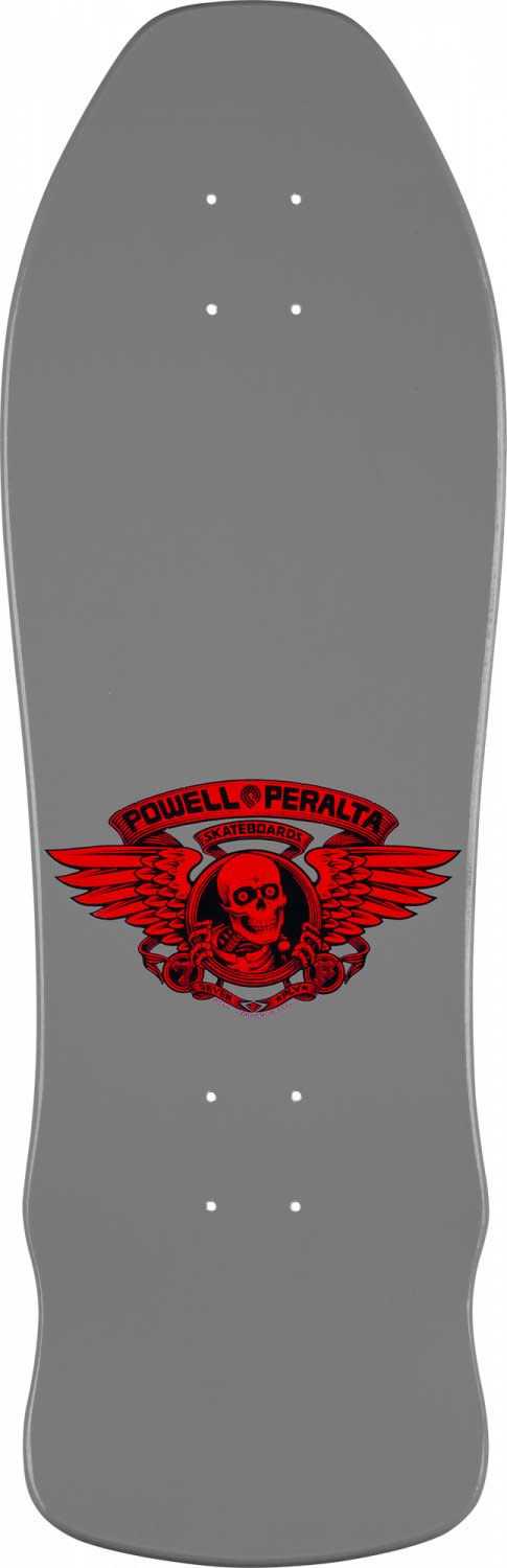 Powell Peralta Geegah Skull And Sword Silver Skateboard Deck 9.75 | Deck by Powell Peralta 2