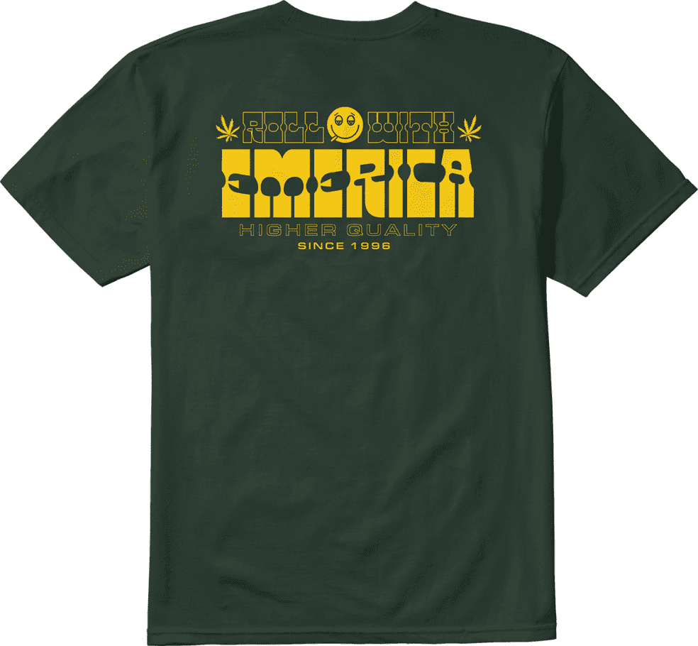 Emerica Roll With Short Sleeve Tee | T-Shirt by Emerica 2
