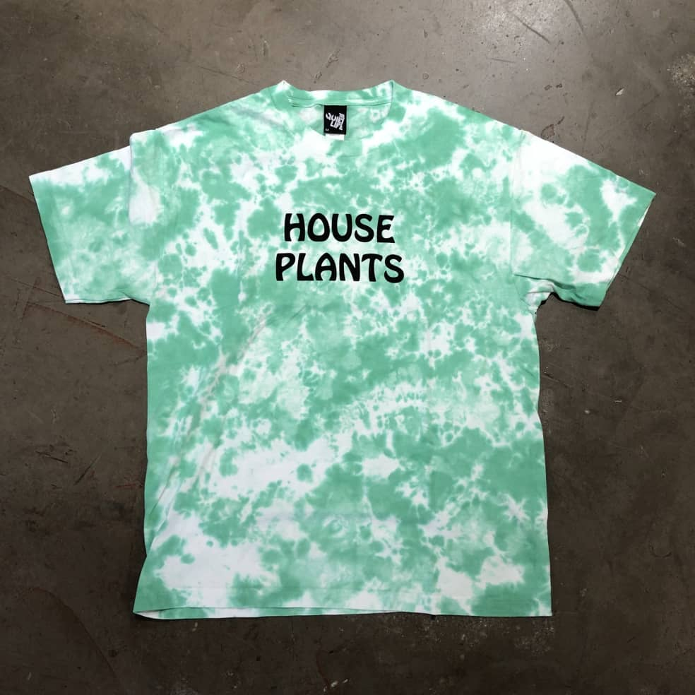 The Quite Life House Plants T-Shirt - Tie Dye | T-Shirt by Bad Image 1
