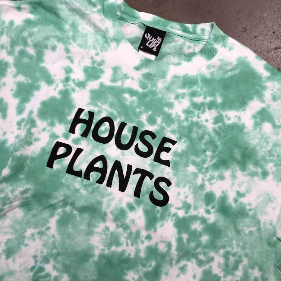 The Quite Life House Plants T-Shirt - Tie Dye | T-Shirt by Bad Image 2