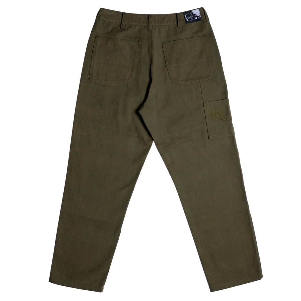 Utility Pant   Loden   Trousers by Quasi Skateboards 2