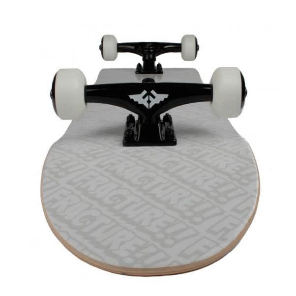 """Fracture Complete Skateboard All Over Comic White 8.0"""" 