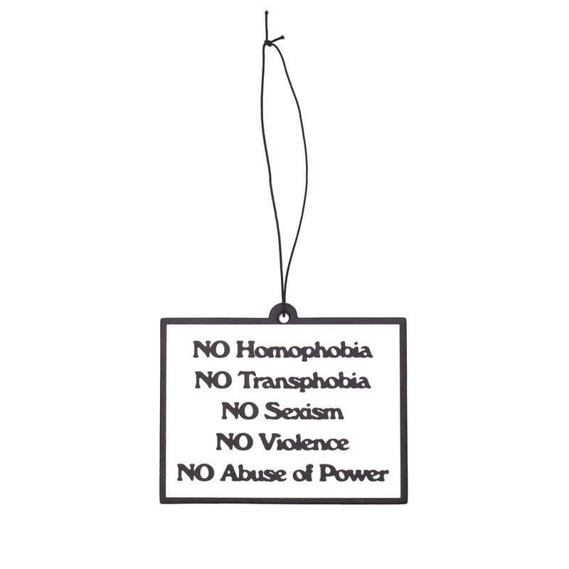 OBEY Clothing - Protest Air Freshner | Air Freshener by OBEY Clothing 1
