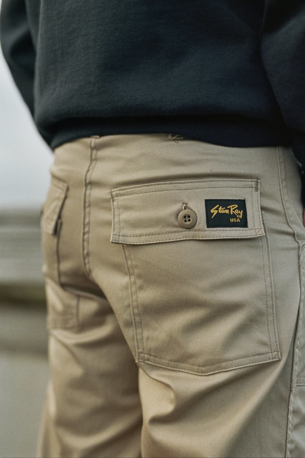 Original Fatigue Pant Khaki Twill | Trousers by Stan Ray 3