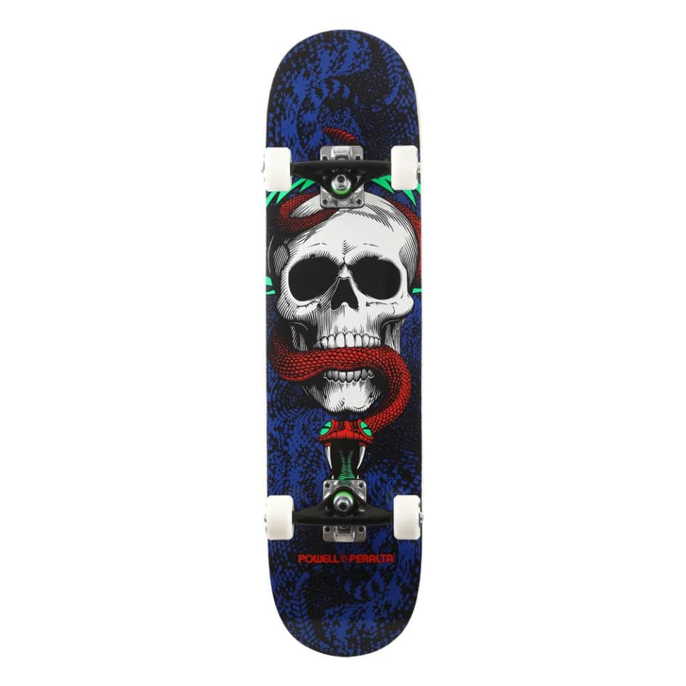 Skull & Snake One Off Complete - 7.75 | Complete Skateboard by Powell Peralta 1