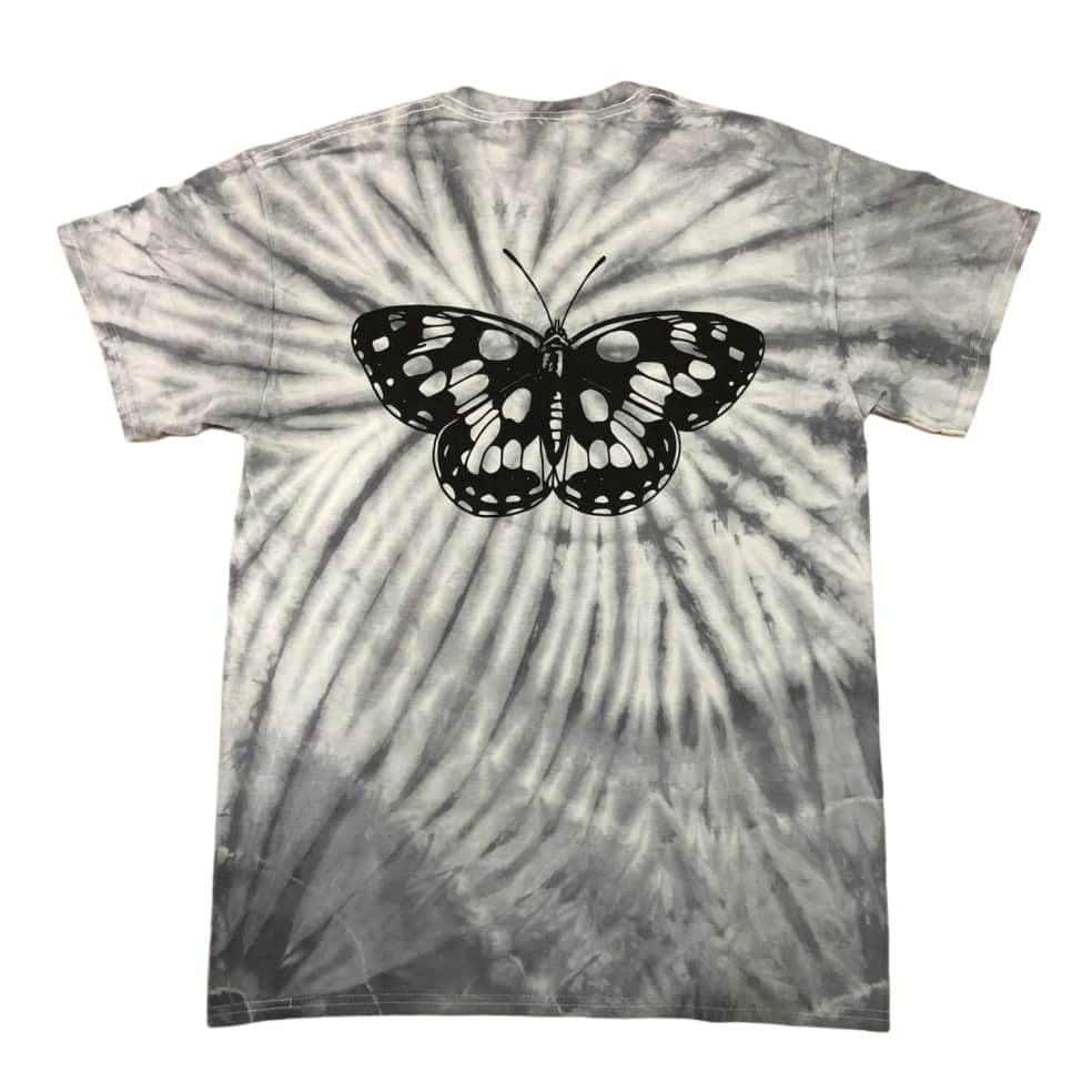 RELIEF BUTTERFLY TIE DYE TEE | T-Shirt by Relief Skate Supply 1