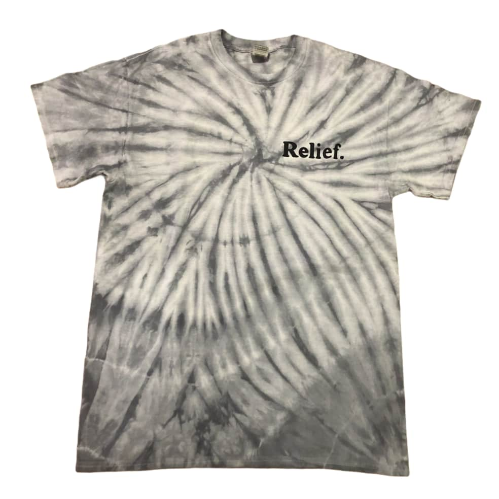 RELIEF BUTTERFLY TIE DYE TEE | T-Shirt by Relief Skate Supply 2