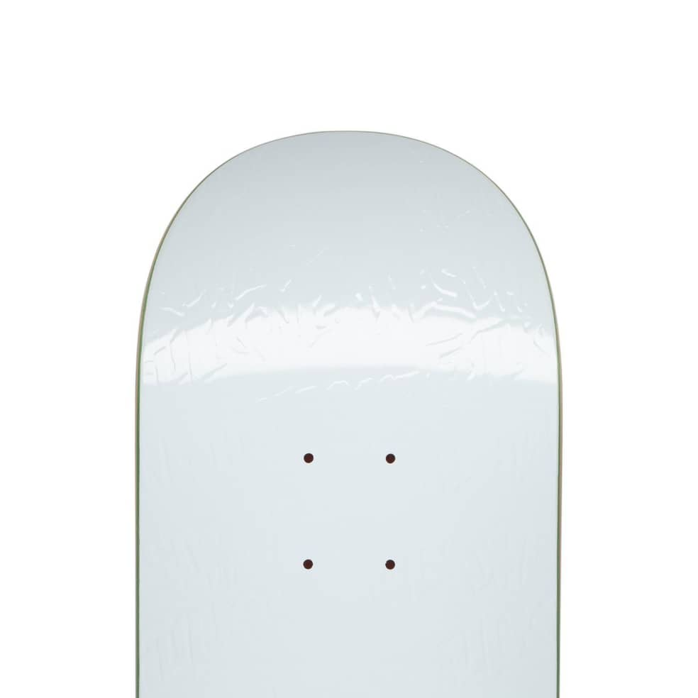 FA Stamp Embossed White Deck 8.25 | Deck by Fucking Awesome 2