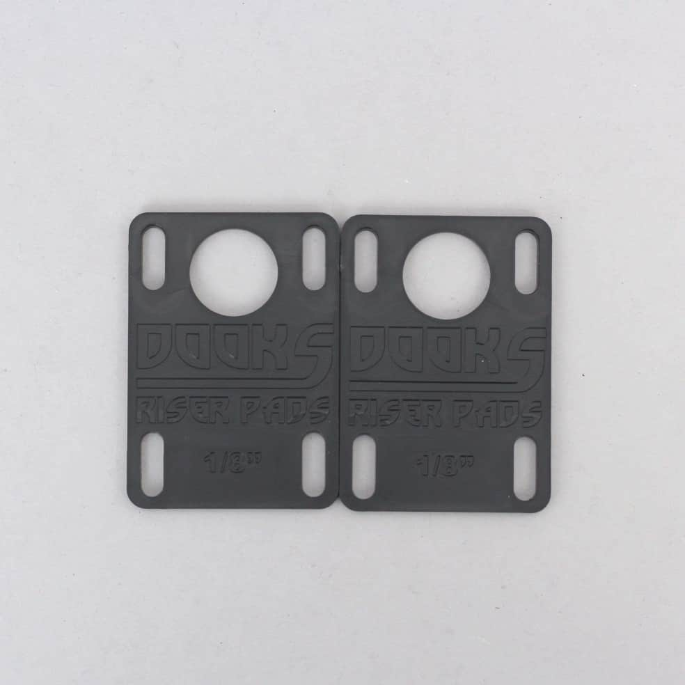 Shorty's Dooks 1/8 Riser Pads Black | Riser Pads by Shorty's 1