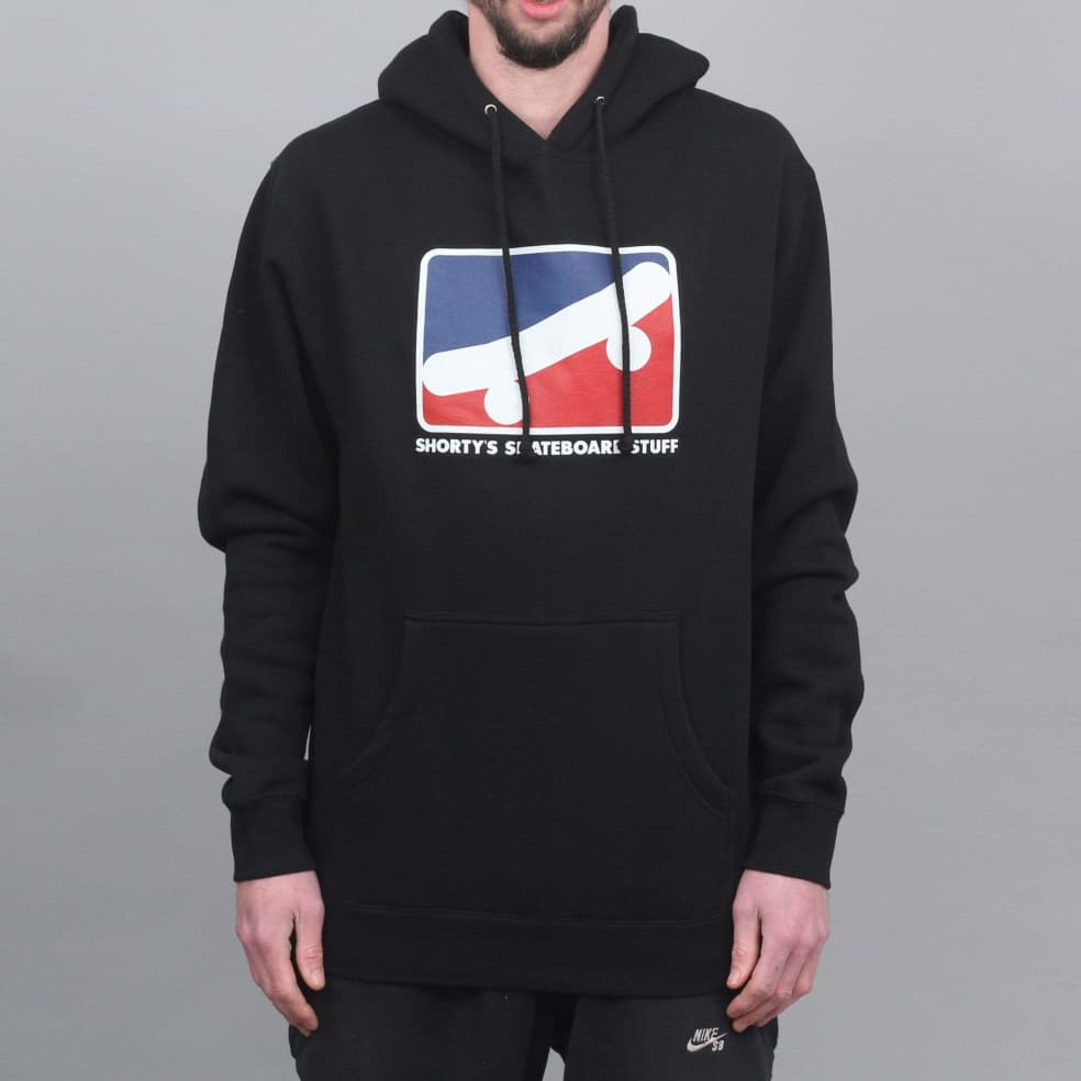 Shorty's Skate Icon Hood Black   Hoodie by Shorty's 1