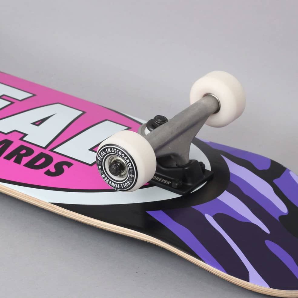 Real 8 Team Oval Camo Large Complete Skateboard | Complete Skateboard by Real Skateboards 2