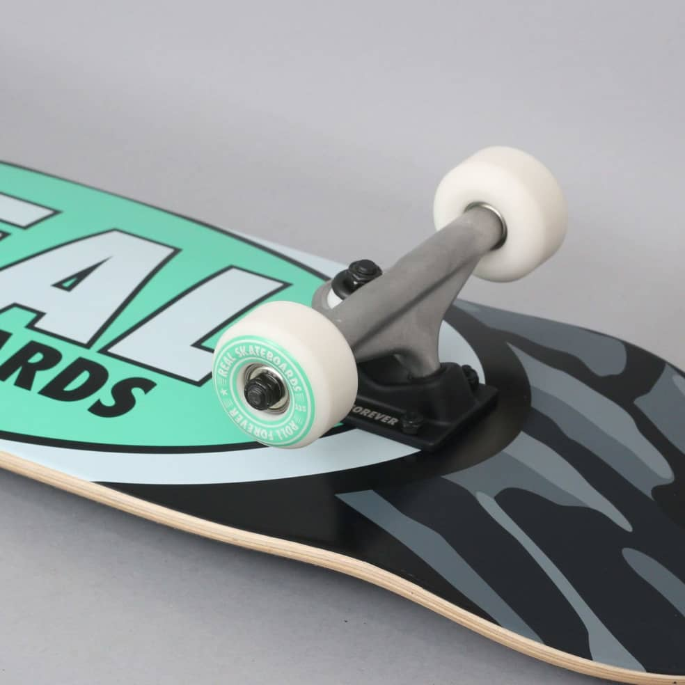 Real 8.25 Team Oval Camo X-Large Complete Skateboard | Complete Skateboard by Real Skateboards 2